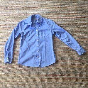 Basic Blue Button-Down Dress Shirt - 2P